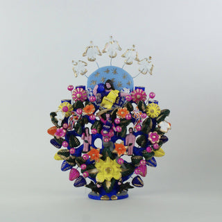 Metepec Ceramic Tree of Life - Zinnia Folk Arts