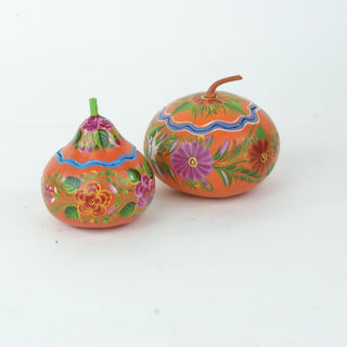 Painted Olínala Gourds, Medium - Zinnia Folk Arts