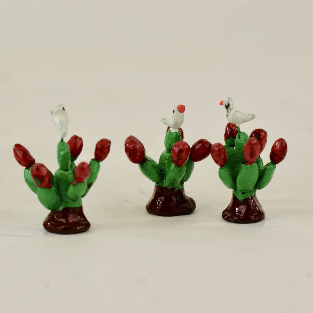 Clay Christmas Cactus - Zinnia Folk Arts
