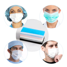 Load image into Gallery viewer, Supcare 50PCS Surgical Mask Disposable Anti virus Medical Face Masks 3-ply