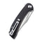 Dogma Flipper Knife Black G10 Handle (3.46'' Satin D2) C 2005D