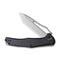 "Fracture Slip Joint Knife Black G10 Handle (3.35"" Gray Stonewashed 8Cr14MoV Tanto) C 2008E"