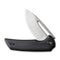 "Odium Flipper Knife Black G10 Handle (2.65"" Stonewashed D2) C 2010D"