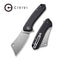 "Mini Mastodon Black G10 Handle (2.97"" Stonewashed 9Cr18MoV) C 2011C"