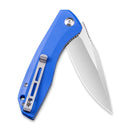 Baklash Flipper Knife Blue G10 Handle (3.5'' Satin 9Cr18Mov) C801F