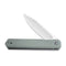 Chronic Flipper Knife Gray G10 Handle (3.22'' Satin 9Cr18MoV) C 917A