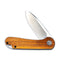 Elementum Flipper Knife Rosewood Handle (2.96'' Satin D2) C 907C