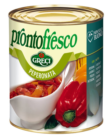 Prontofresco - Cooked Mixed Peppers #6012 (800g)