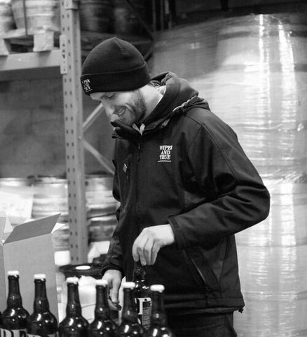 Will Davies, Head Brewer at the Barrel Store