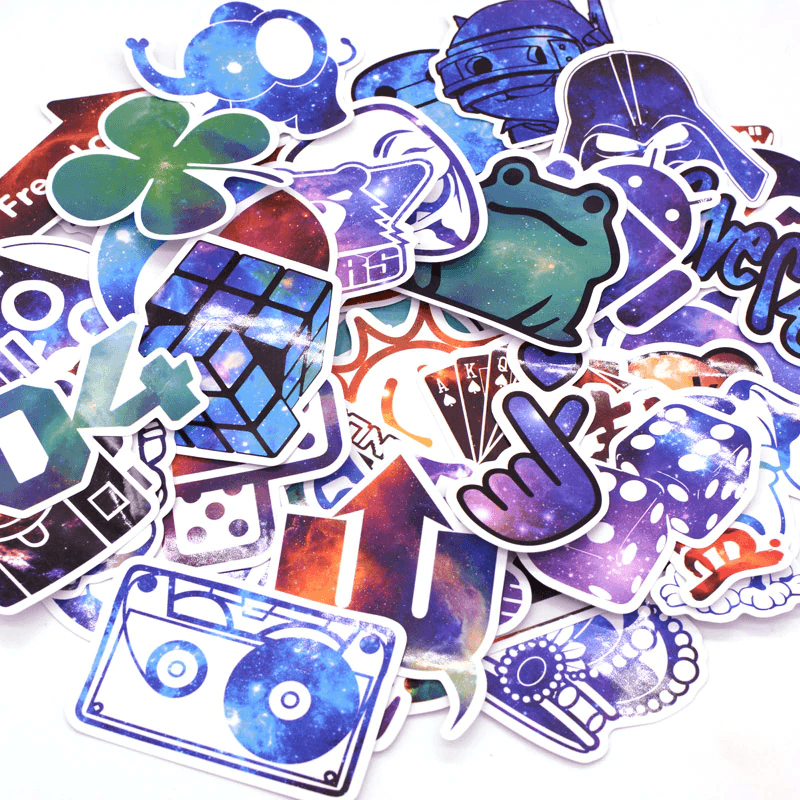 1500Pcs Mixed Cool Stickers