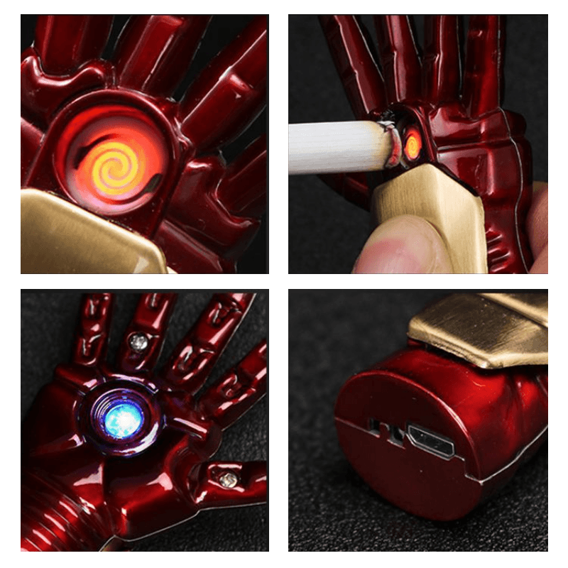 Iron Man Palm Lighter