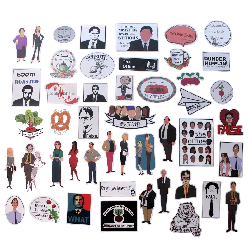 The Office TV Show Stickers