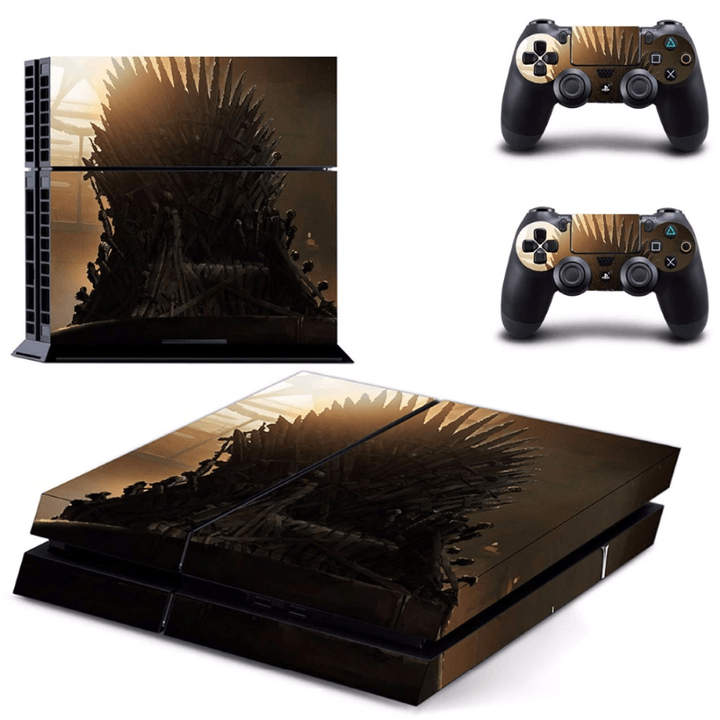 Game Of Thrones Iron Throne Skin For PS4