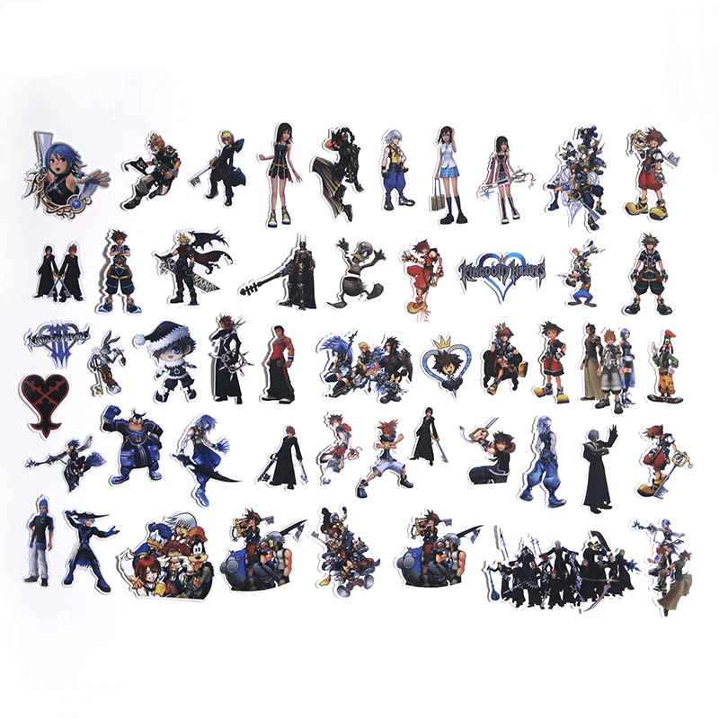 Kingdom Hearts Stickers