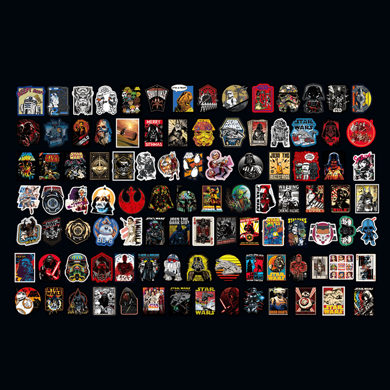 Star Wars Stickers Set 200Pcs
