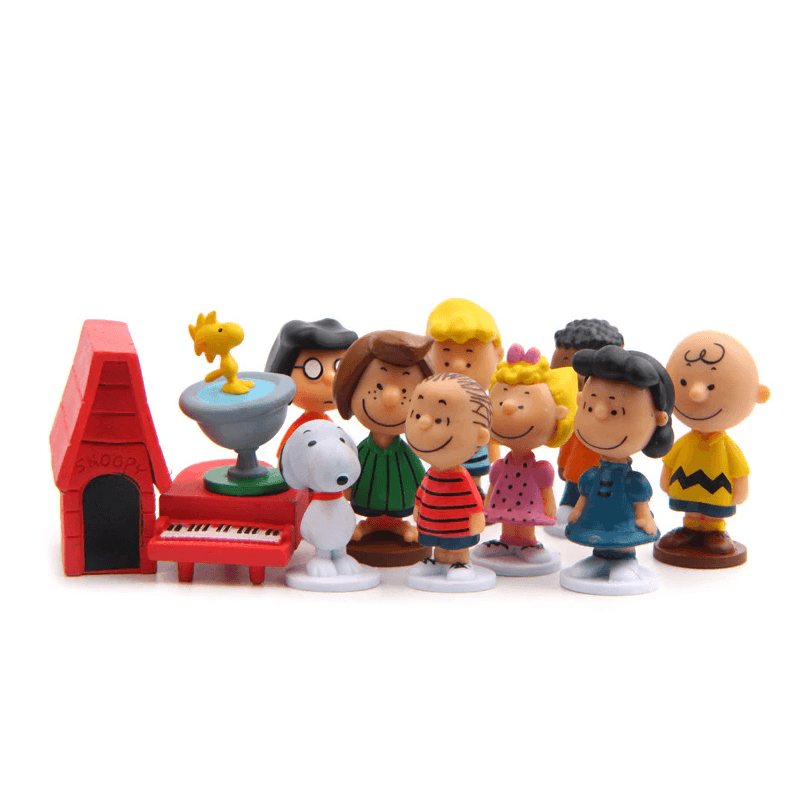 The Peanuts Movie Figure 12Pcs/Pack