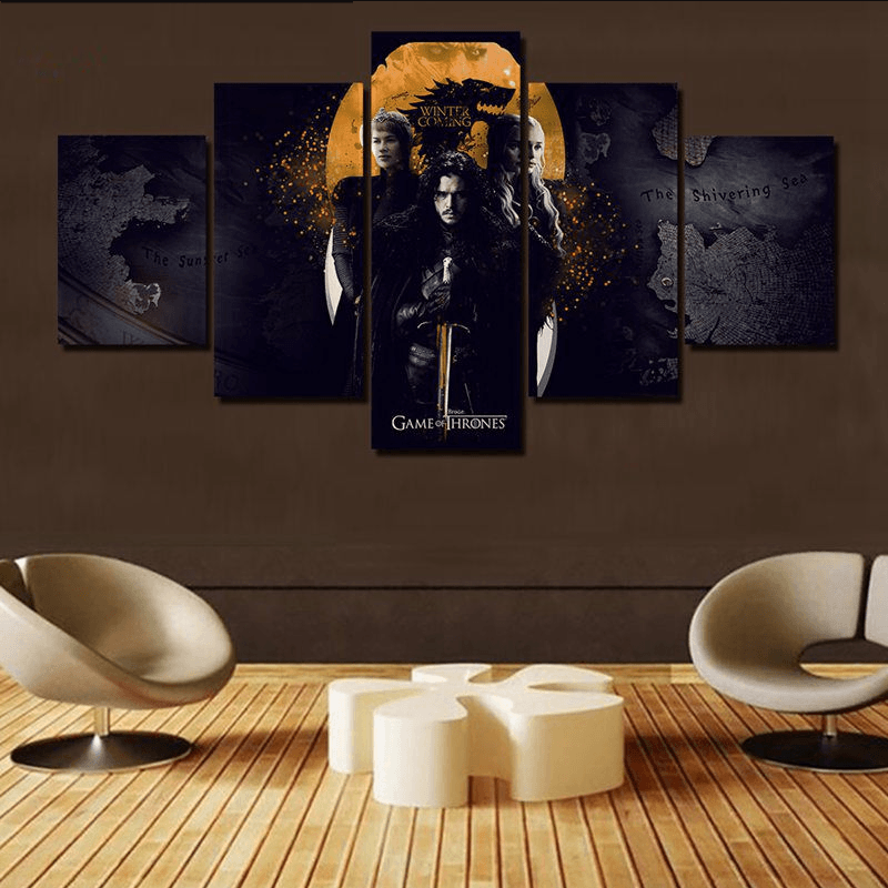 Game Of Thrones King Of The North Canvas