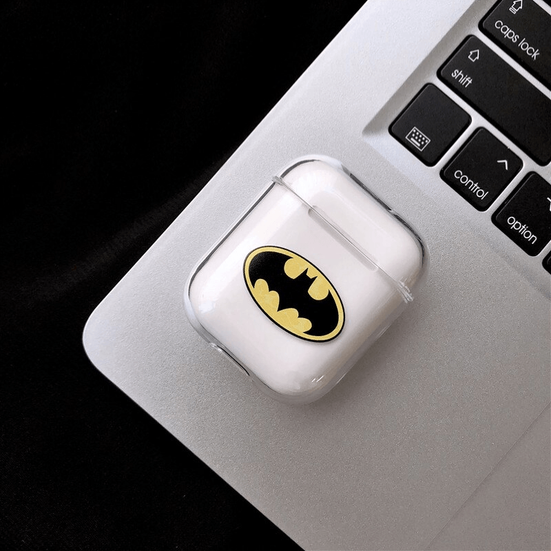 Superhero Plastic Airpods Case