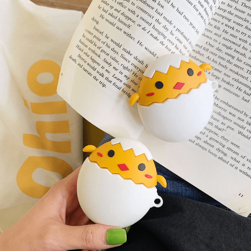 Chick Breaks Egg 3D Airpods Case
