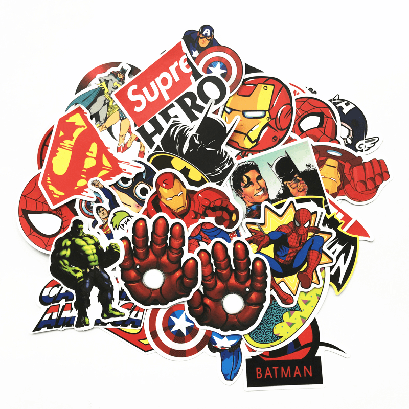 Superhero Stickers