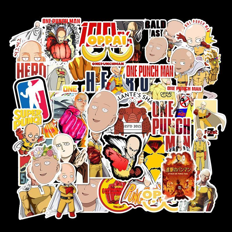 One Punch Man Stickers
