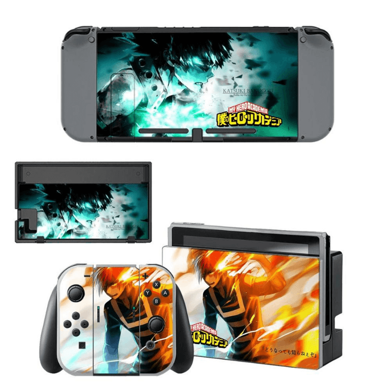 My Hero Academia Skin For Nintendo Switch