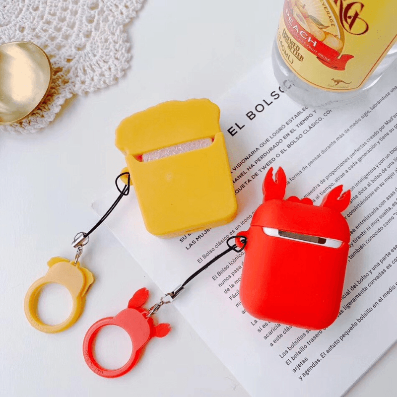 Beer And Crayfish 3D Airpods Case