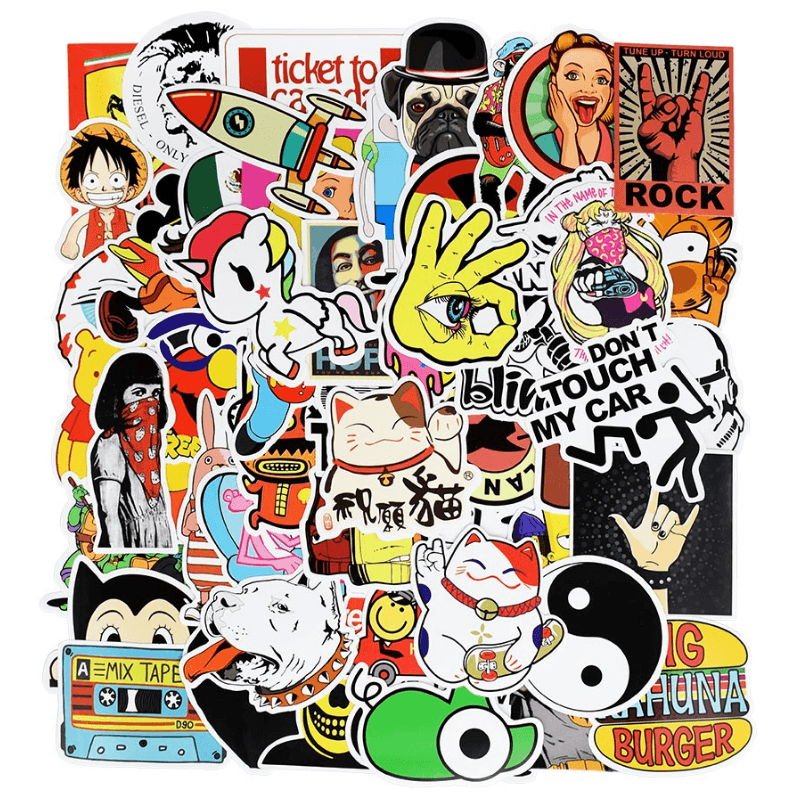 600Pcs Mixed Random Stickers