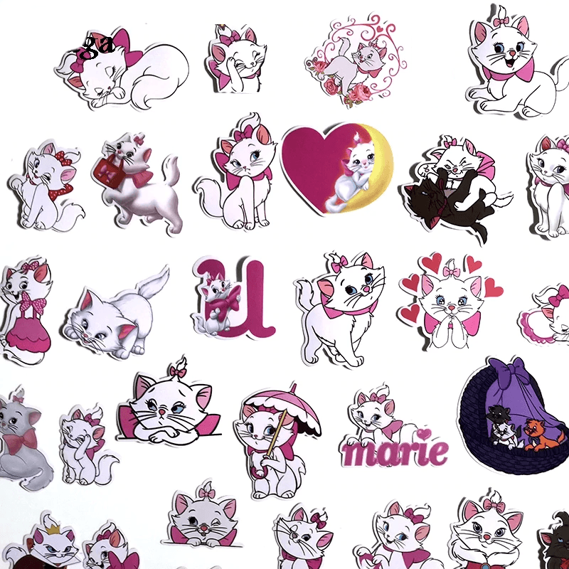 Marie Cat Stickers