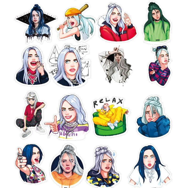 Billie Eilish Sticker