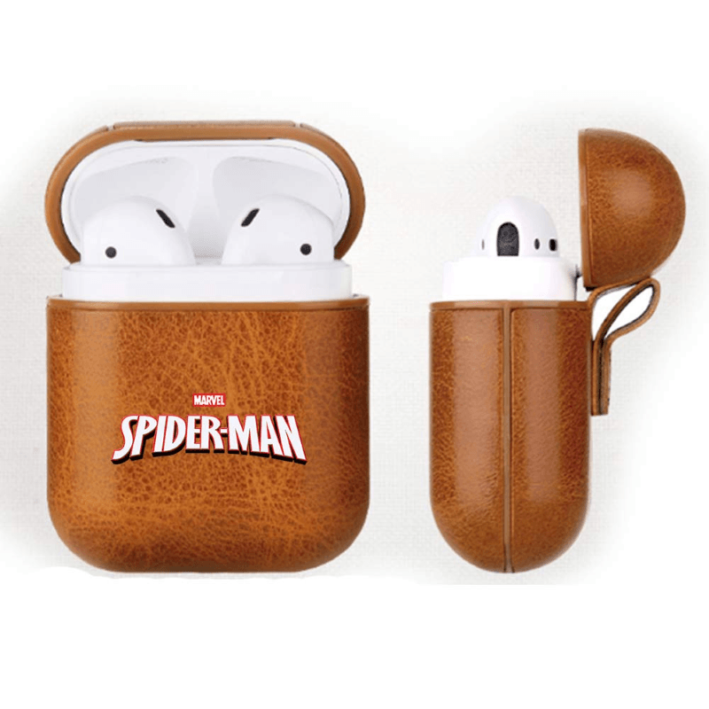 Spider-Man Leather Airpods Case