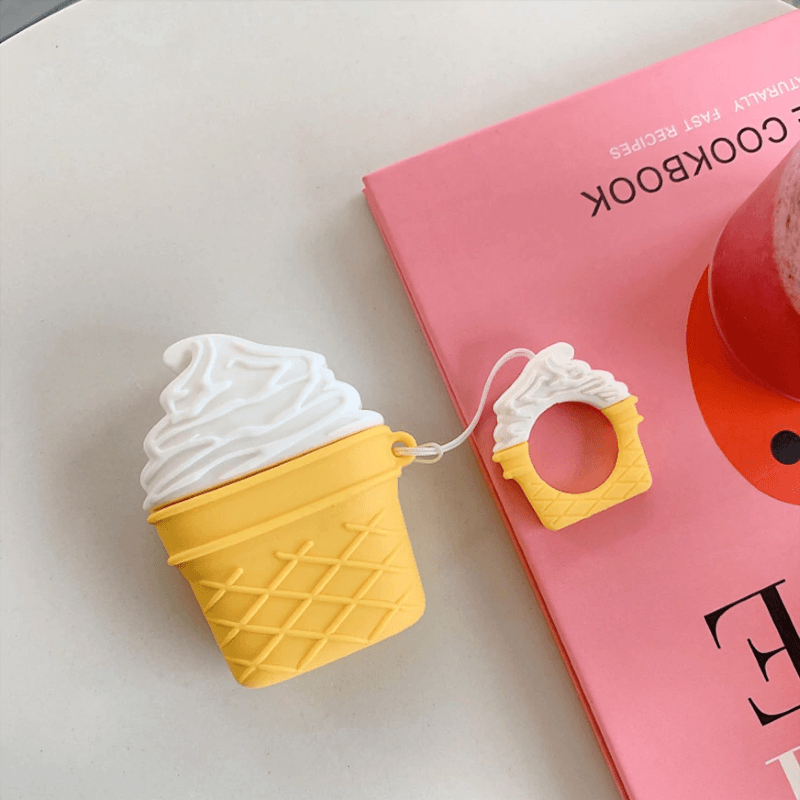 Ice Cream 3D Airpods Case