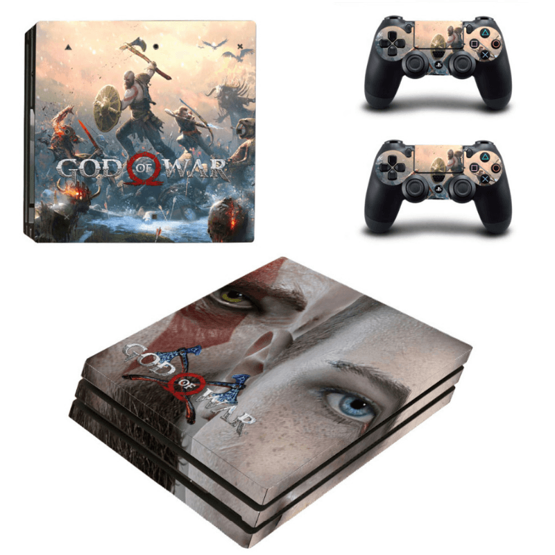 God Of War Skin For PS4 Pro