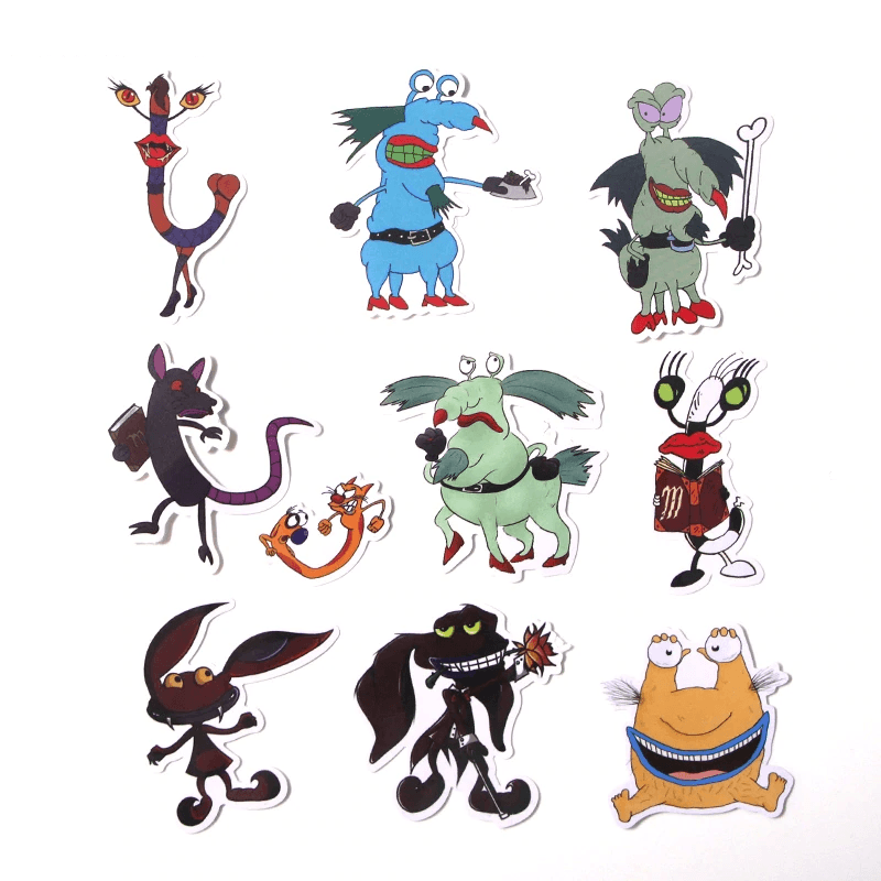 Aaahh!!! Real Monsters Stickers