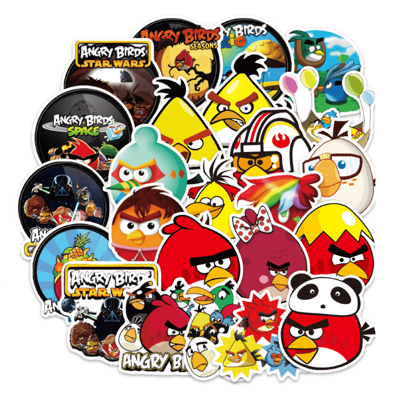 Angry Bird Stickers