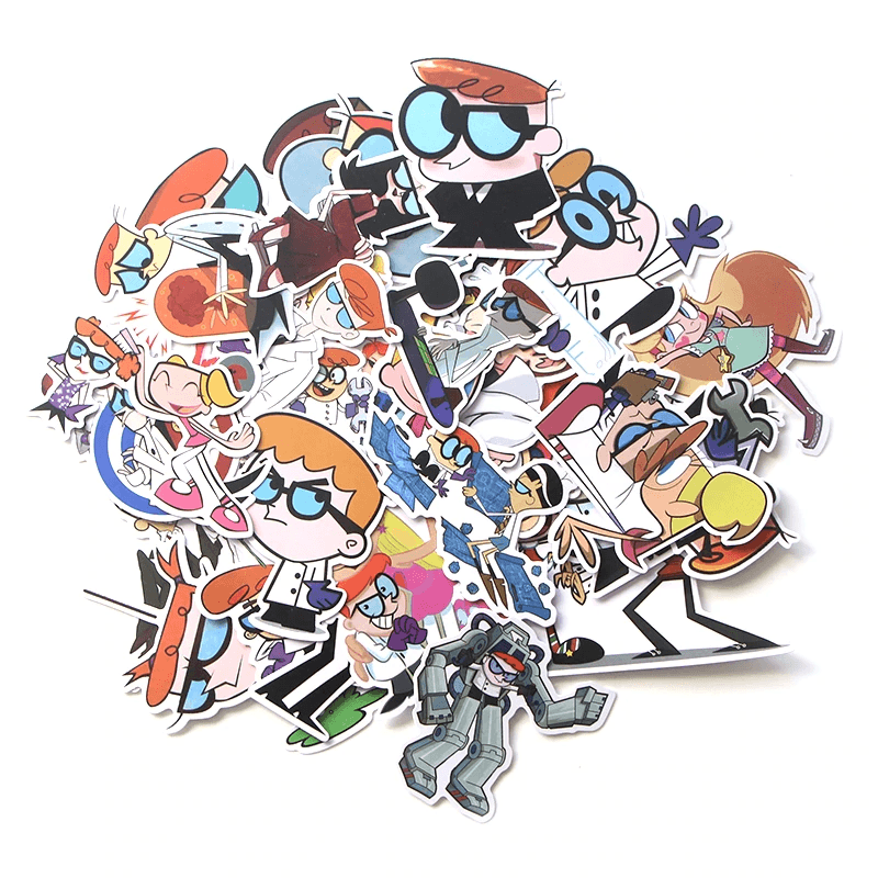Dexter's Laboratory Stickers