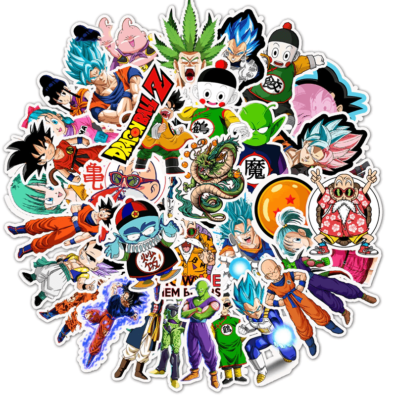 Dragon Ball Mix Stickers