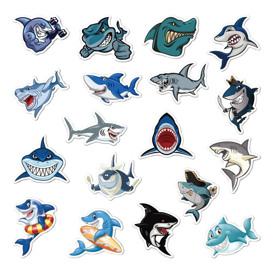 Shark Stickers