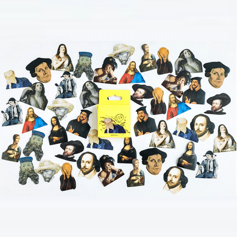 Famous People Stickers
