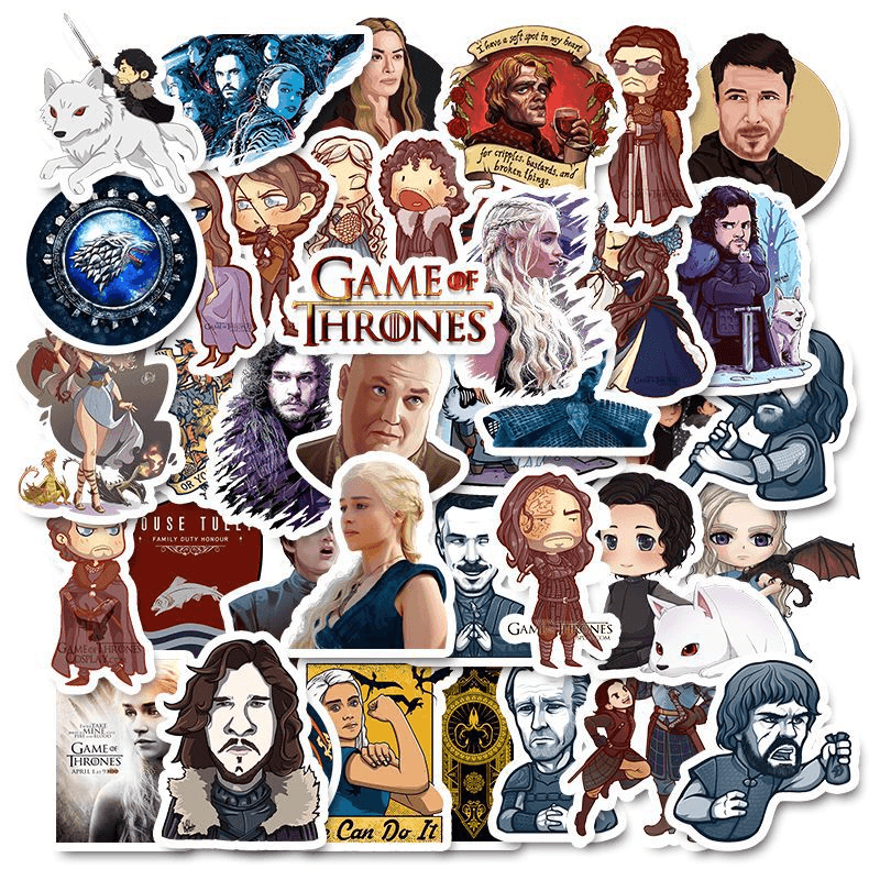 Game Of Thrones Super Stickers