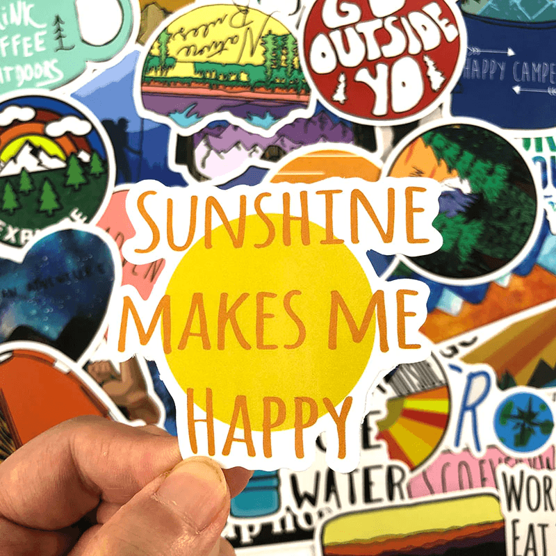 Outdoor & Travel Stickers