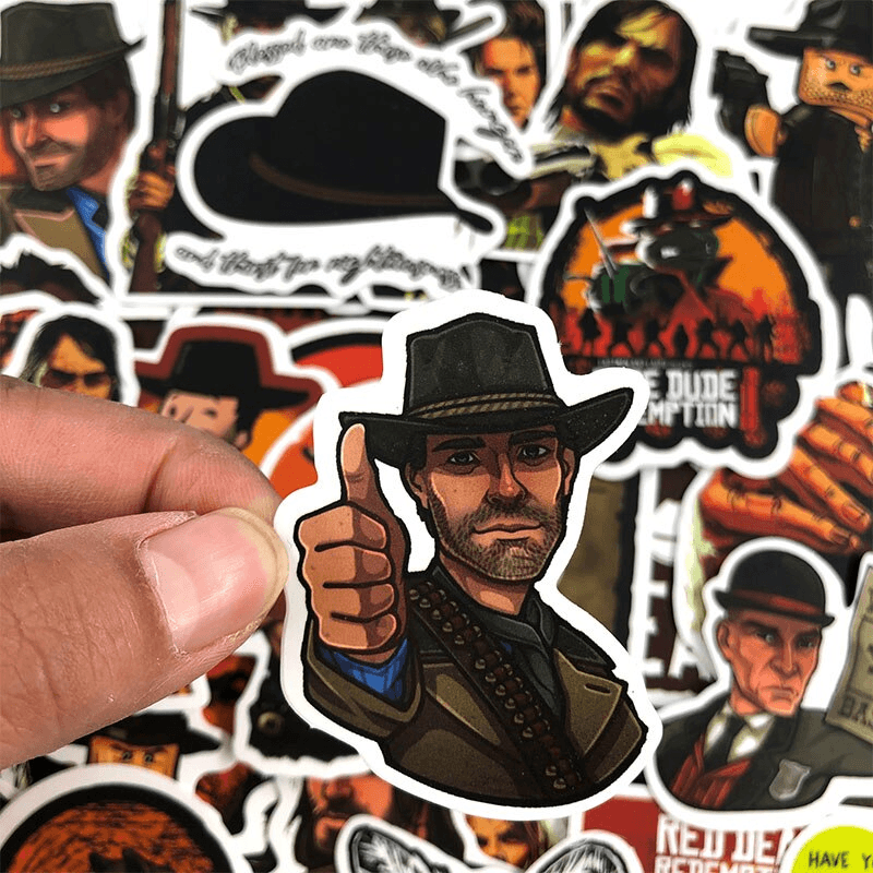 Red Dead Redemption Stickers