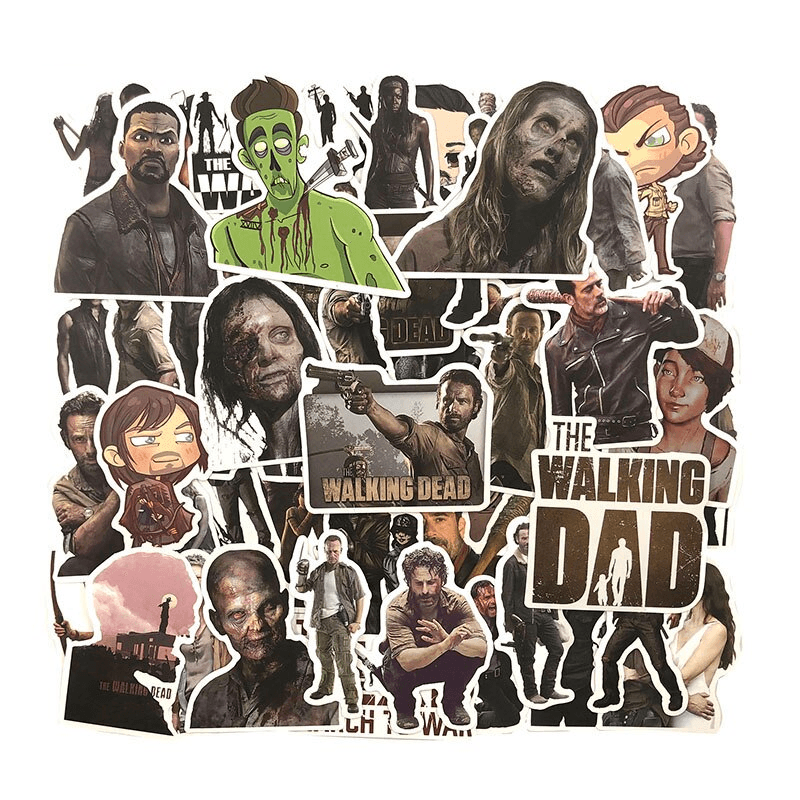 The Walking Dead Stickers