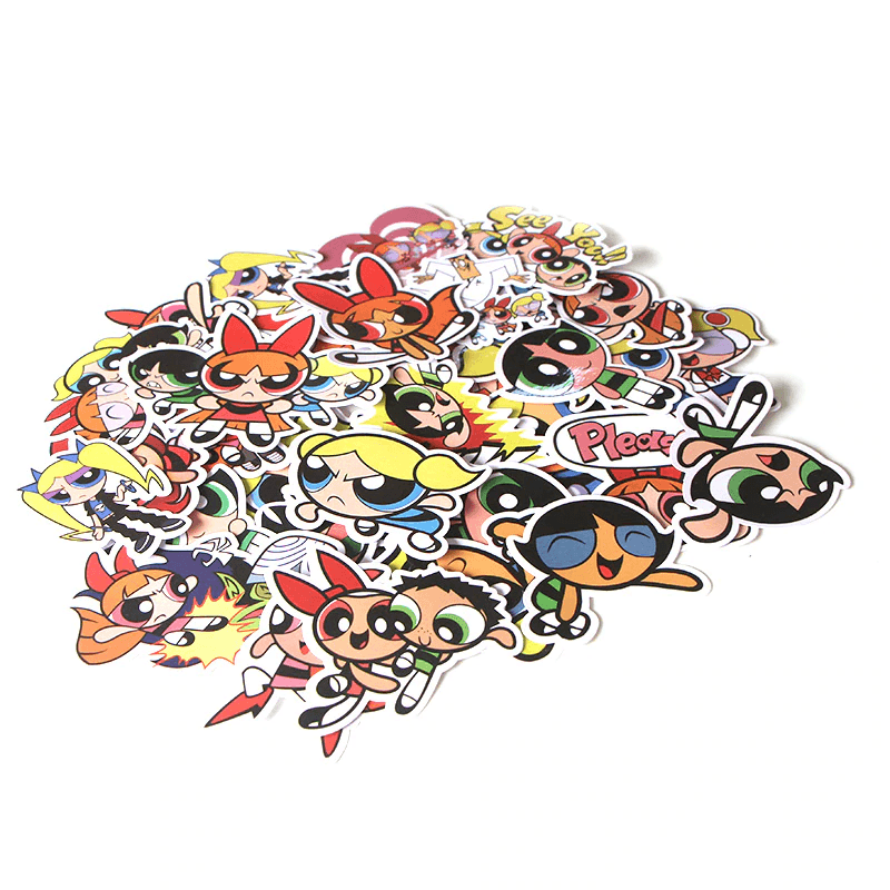 The Powerpuff Girls Stickers