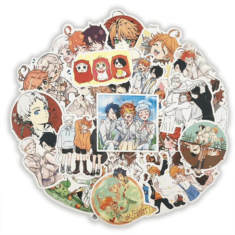 The Promised Neverland Stickers