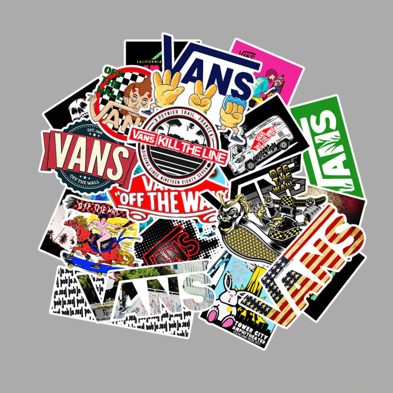 Vans Off The Walls Stickers