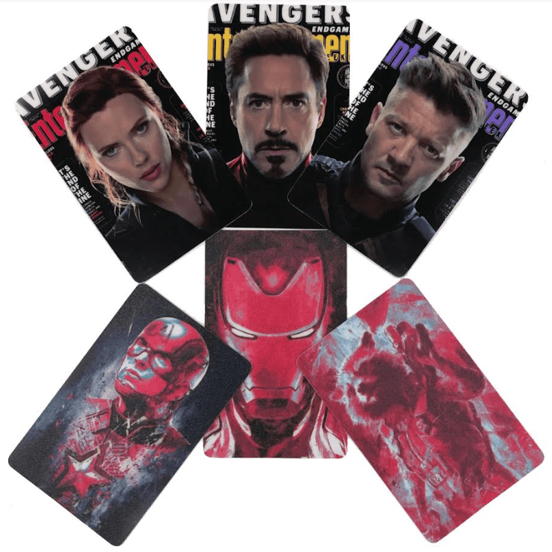 Avengers Endgame Card Stickers