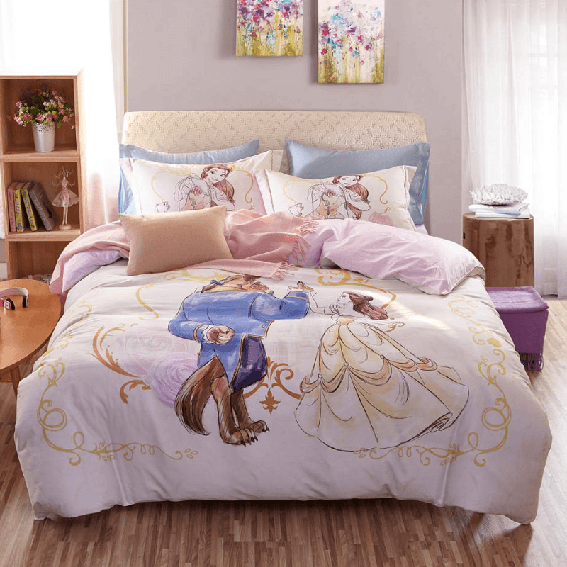 Beauty and the Beast Luxury Bedding Set