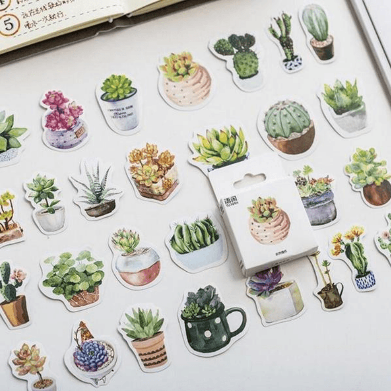Cactus Mini Stickers