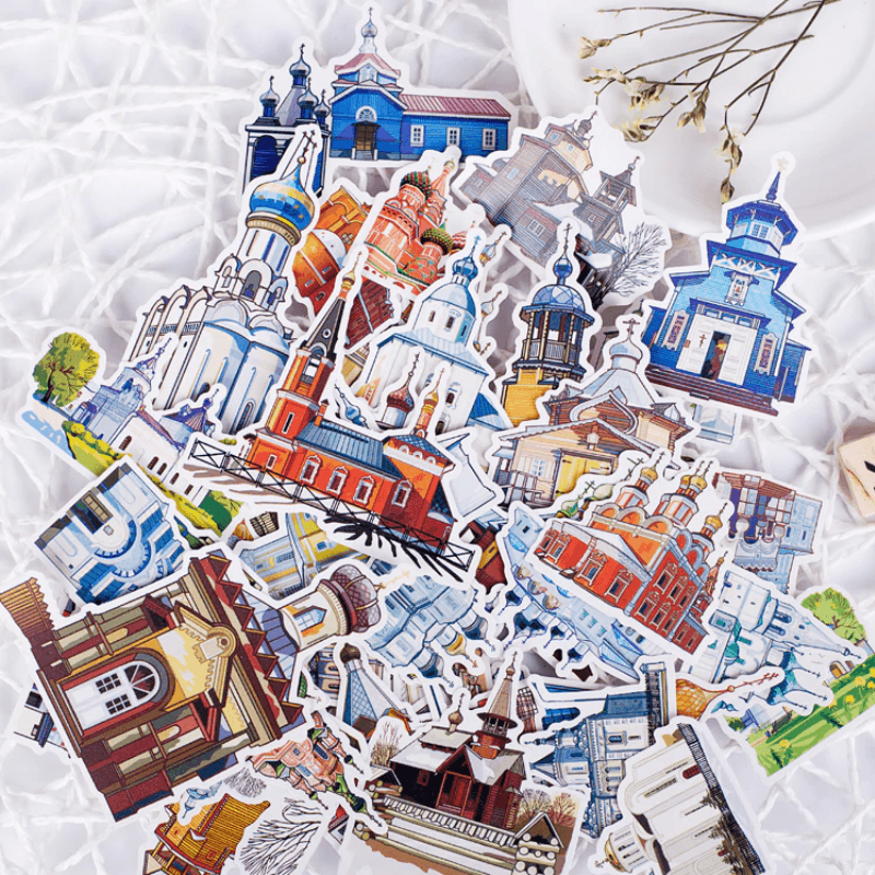 Castle Style Stickers